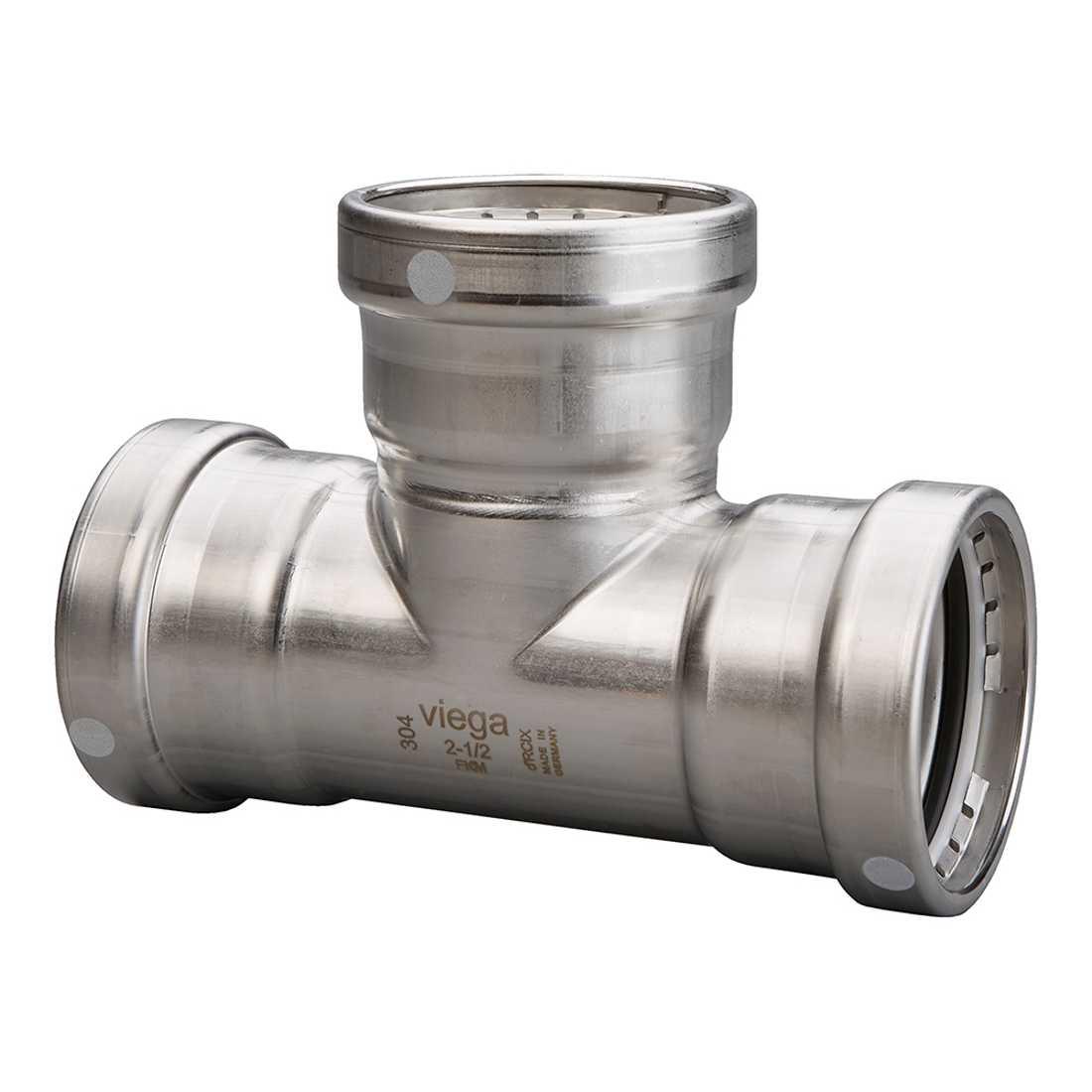85915 P1: 304 Stainless Steel Viega Propress XL Tee